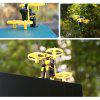 LEFANT 6916 Mini Spaceman Remote Control Drone Aircraft Toy - YELLOW