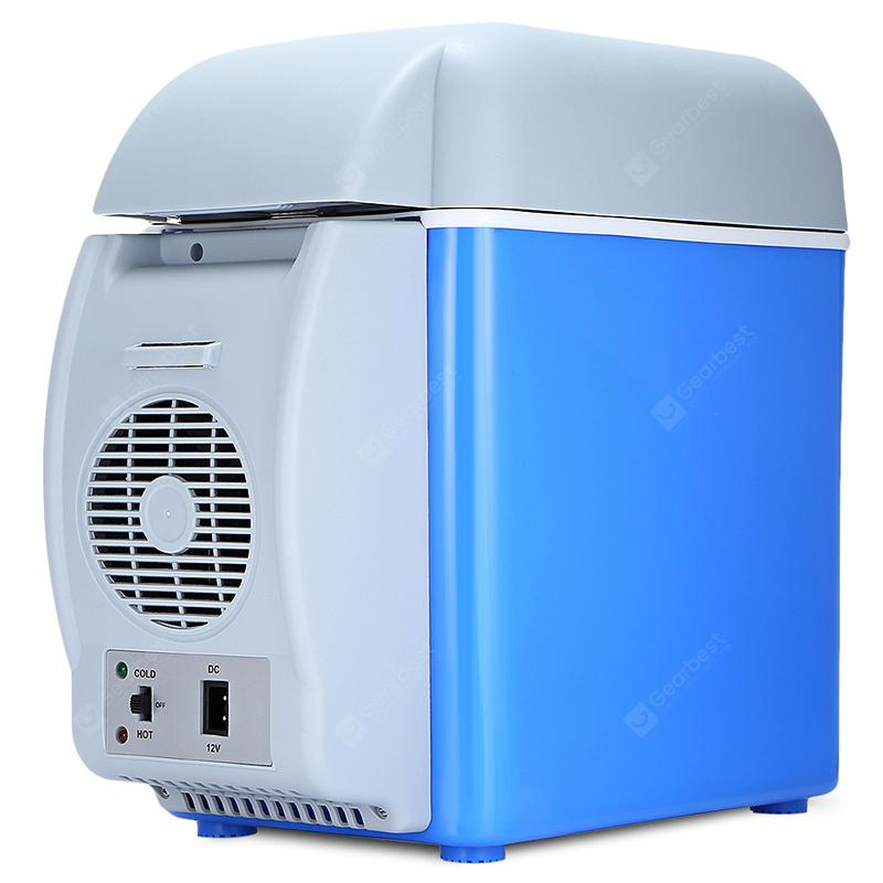 Lightweight Portable Car Hot and Cold Dual-use Refrigerator - Sky Blue