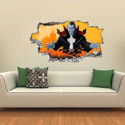 Halloween Vampire 3D Wall Sticker