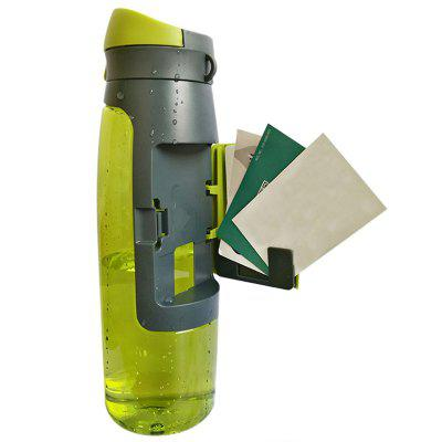 Outdoor Sports Water Bottle with Card Holder