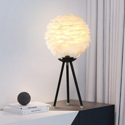 ANDERSON MT16287.1.23 Feather Table Lamp