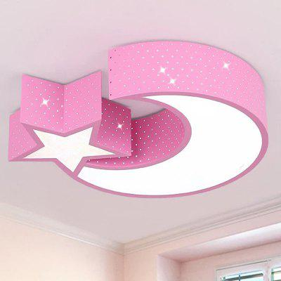 FYL - 001 85 - 256V 24W 2000lm Star Moon Light Cartoon LED Ceiling Lamp