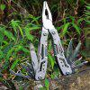 Rustproof Pocket Multitool Plier for Camping Hiking - SILVER