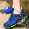 Male Outdoor Casual Mesh Hiking Shoes - BLUE