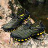 Male Outdoor Casual Mesh Hiking Shoes - ARMY GREEN