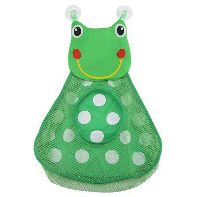 Baby Shower Bath Toys Little Duck / Frog Storage Mesh Bag