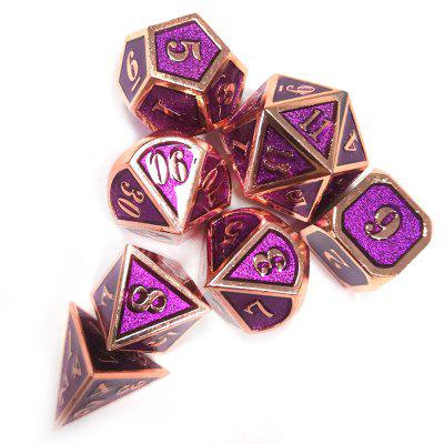 Metal Dice Nightclub Party Toy 7pcs