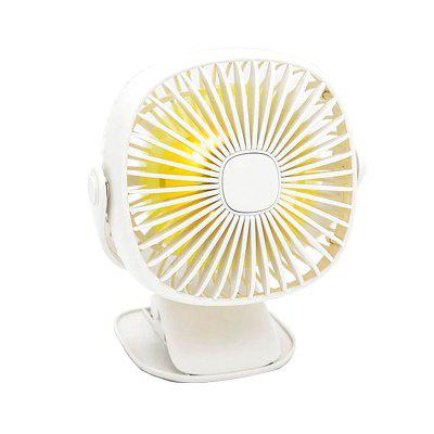 BRELONG TX - 2893 USB Night Light ile Ayarlanabilir Fan Klipsli