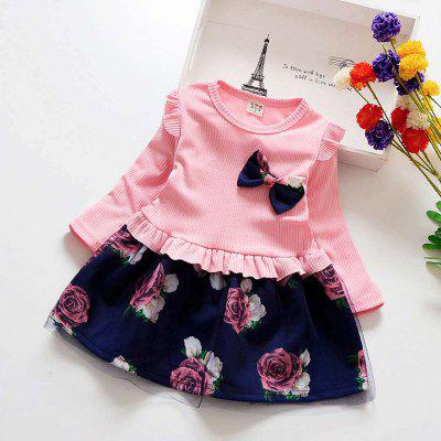 Girl's Mesh Princess Dress