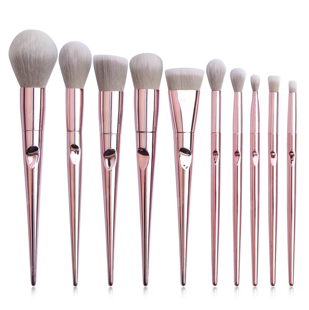 MAANGE 5752sb Portable Soft Makeup Brushes Beauty Tools 10pcs