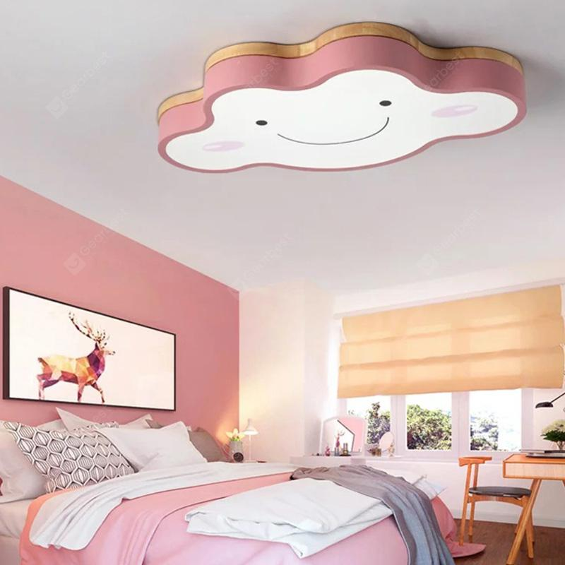 XM8810 Creative Stepless Dimming Ceiling Light - Pink 50 x 28 x 5cm