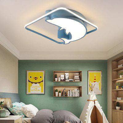 Cute Square Bedroom Ceiling Light