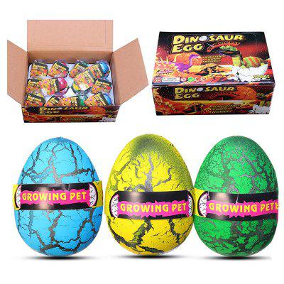 Huge Dinosaur Egg Hatching Growing Magic Water Novelties Toys with Box 12pcs