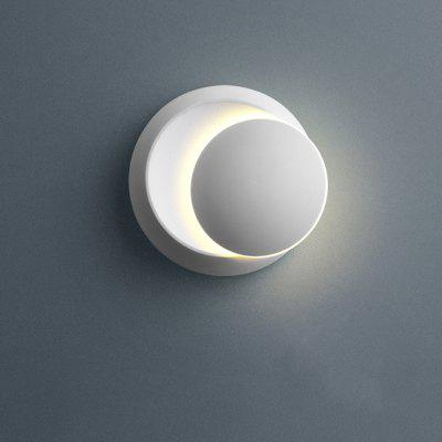 XM8606 Moon Design LED Wall Lamp 360 Degree Rotation