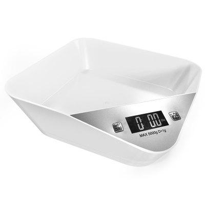 Smart Weighing Digital Kitchen Pet Scale Bowl