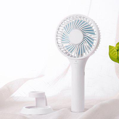 JRS - 10 Mini Hand-held USB Small Office Desk Fan
