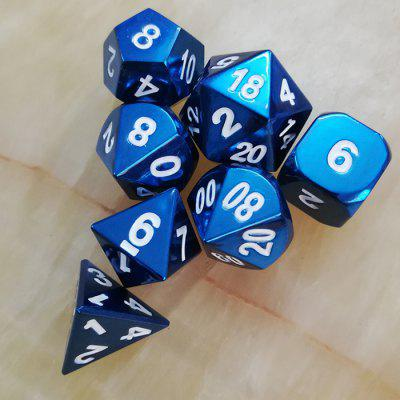 Classic Game Props Metal Dice 7db