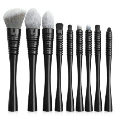 MAANGE 5757sb Small Waist Makeup Brush with Bag 9pcs