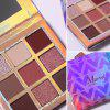 UCANBE Huda Nine Color Eyeshadow Palette - # 001