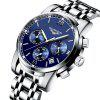 GUANQIN GQ19018 Male Waterproof Quartz Watch - DARK SLATE BLUE