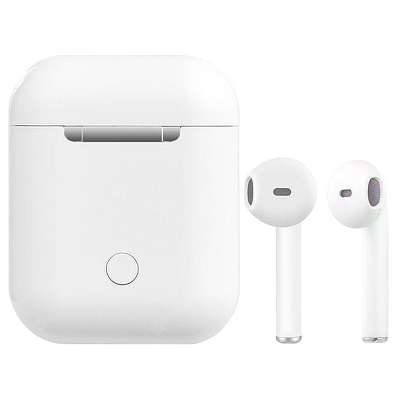 Bilikay i14 TWS Touch Wireless Earphone 2pcs - White