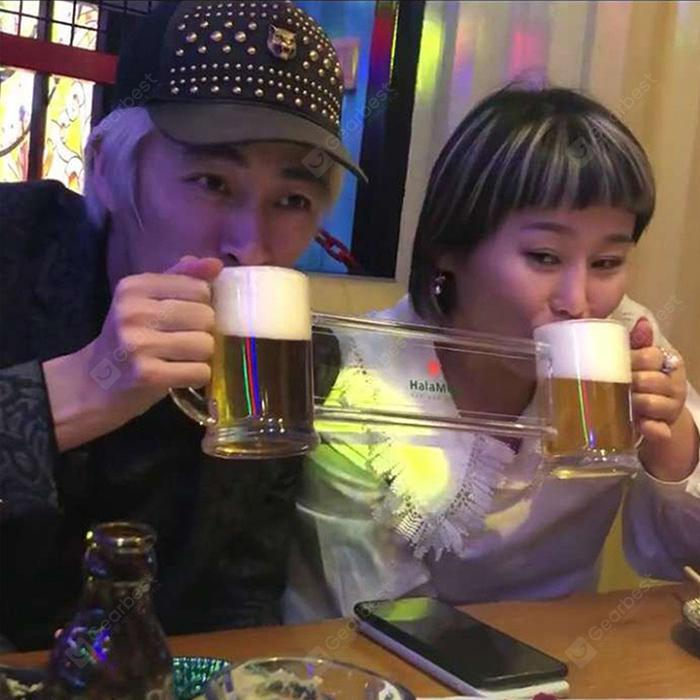 Creative Conjoined Beer Mug Dating Friends Hara Cup Open A New Way of Friendship