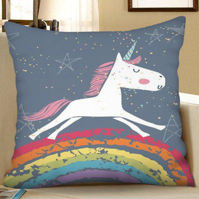 Digital Print Unicorn Square Sofa Cushion kussensloop