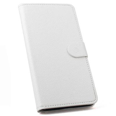LingMao Solid Color PU Leather Phone Case for Nokia X5