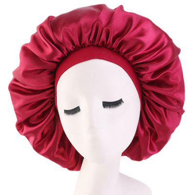 Stretchy Wide-brimmed Shower Cap