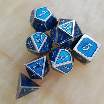 Auxiliary Props Metal Dice 7szt