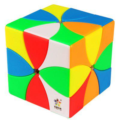 ZHISHENG 1570 Puzzle creativ 8 Petals Flower Magic Cube