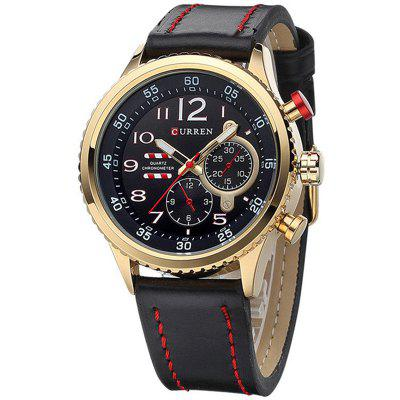 CURREN Men's Waterproof Watch with Box