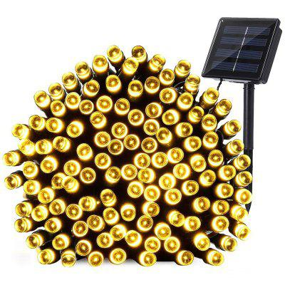 Waterproof Outdoor Solar Power String Light 12m 100 LEDs