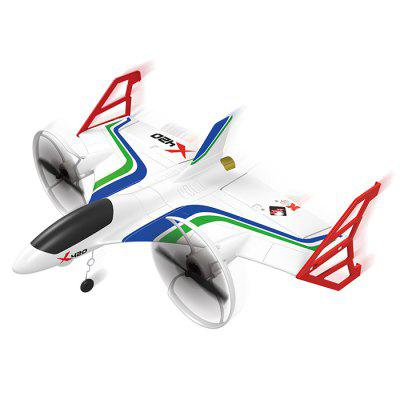 XK X420 Avion RC 2,4G 3D6G 420mm EPP 3D Aerobatique