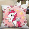 Digital Print Unicorn Square kussensloop - MULTI