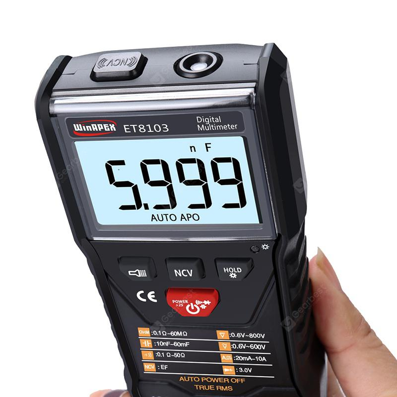 APEXEL ET8103 Full Intelligent Digital Multimeter | Gearbest