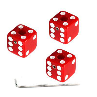 GD301 Dice Button 3ks