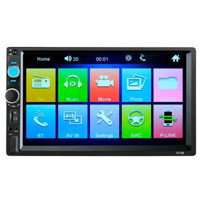 7010B TFT Screen Car Audio Stereo MP5 Player