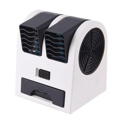 Ventilateur USB sans Feuille à Double Port