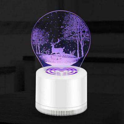 3D Mute USB Inhalatie Mosquito Killer Lamp