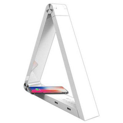 LED Triangle Wireless Charging Desk Lamp