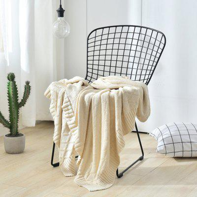 5081699 Cotton Ian Knitting Blanket