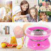 Electric DIY Cotton Candy Maker Quick Heating Machine - LAVA RED