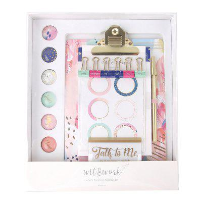 Wit / Work 1229124550 Small Fresh Cute Girl Style Stationery Set
