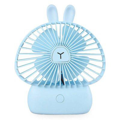 BRELONG LJQ - 075 Mini Ventilatore USB Ricaricabile Portatile