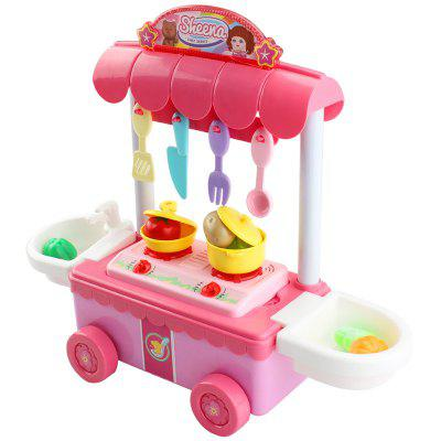 T1002B Simulation Kitchen Children's Play House Toy