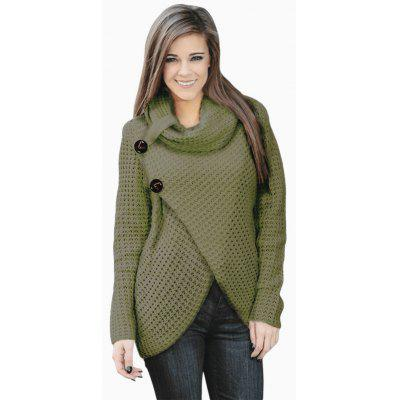 Women Long Sleeve Fashionable Knitting Sweater