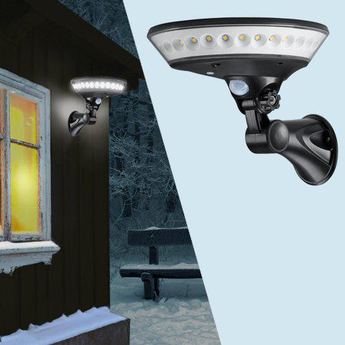 WV - SWL - 00BW Solar Wall Light Body Infrared Induction