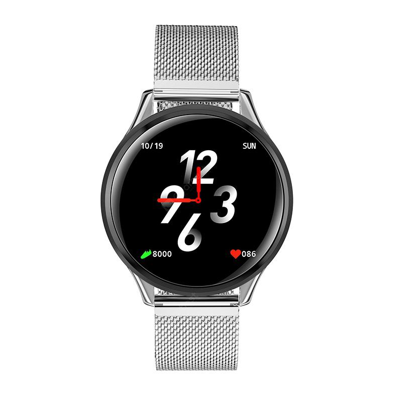SN58 Waterproof Heart Rate Smart Watch - Silver 4