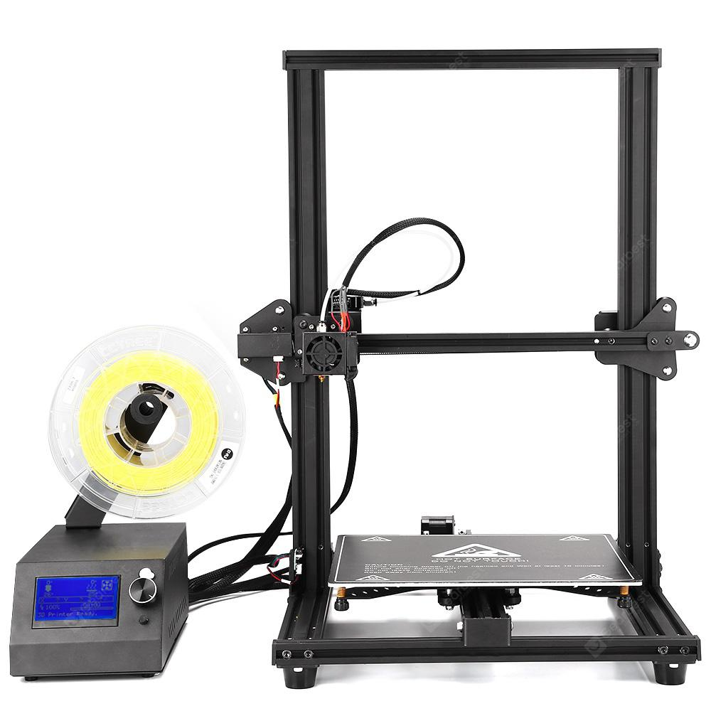 Eazmaker M18 Large Scale 3D Printer - Black EU Plug